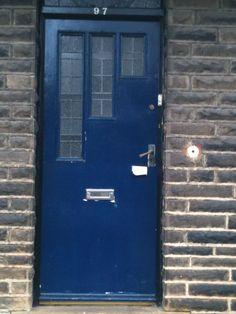 Art Deco door in Bradford Edwardian