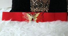 Vintage Gürtel Schmetterling von *Coco Mademoiselle* auf DaWanda.com