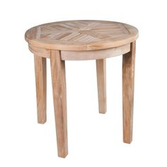You'll love the Nantucket Solid Teak Round Side Table at Wayfair - Great Deals on all Outdoor products with Free Shipping on most stuff, even the big stuff.
