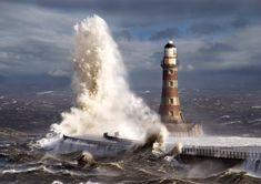 lighthouse high seas