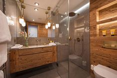 World class luxury ski holiday Chalet McKinley in Zermatt available to book through Ultimate Luxury Chalets. Downstairs Bathroom, Bathroom Renos, Bathrooms, Ski Lodge Decor, Luxury Ski Holidays, Swiss Chalet, Zermatt, Cabin Homes, Bathroom Inspiration