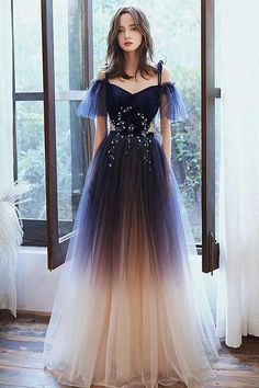 Prom Girl Dresses, Princess Prom Dresses, Pretty Prom Dresses, A Line Prom Dresses, Ball Dresses, Elegant Dresses, Beautiful Dresses, Flapper Dresses, Long Dress Formal Elegant