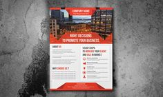 creative business flyer template by Creative Design on Creative Market