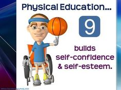 The following printable display signs were created as a visual aid to highlight the most important reasons for quality physical education.