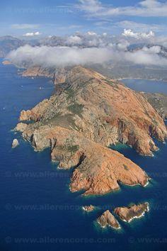 Cappo Rosso, Corsica