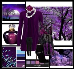 """Purples"" by lulurose98 ❤ liked on Polyvore"