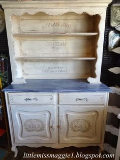 LittleMissMaggie: French Farmhouse Cabinet