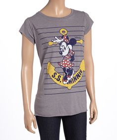 Another great find on #zulily! S.S. Minnie Mouse Tank - Women #zulilyfinds