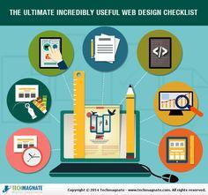 Ultimate Incredibly Useful Web Design Checklist #WebDesign