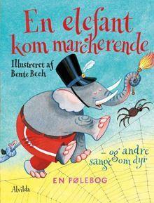 En elefant kom marcherende anmeldelse | Legetøj | Kiddly | Disney Characters, Fictional Characters, Baseball Cards, Cover, Books, Krage, Barnet, Olsen, Products