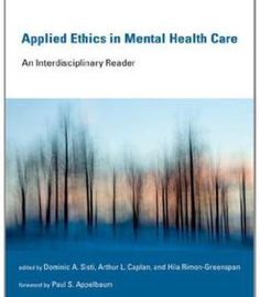 Applied Ethics In Mental Health Care: An Interdisciplinary Reader PDF