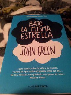 #MiLecturaActual #BajoLaMismaEstrella #JohnGreen #ObjetivoLeer50Libros Este ya sería el 7º. :-D