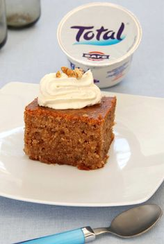 FAGE Greek Yogurt Walnut Cake