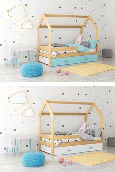 Das Bett D3 160x80 steht Ihnen in vielen Farbkombinationen zur Auswahl. Das Kinderbett D3 160x80 ist aus natürlichem Kiefernholz gefertigt, was eine dauerhafte Konstruktion garantiert. Das Bett ist sicher das dominanteste Möbelstück im Schlafzimmer. Das Bett passt perfekt zu verschiedenen Einrichtungsstillen, von klassischen Lösungen bis zu modernen. Das Bett D3 160x80 - bietet vollkommene Entspannung und Komfort. #Bett #Babybett #Kinderbett #Hausbett