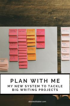 PLAN WITH ME: My new system to tackle big writing projects — Helen Redfern Writing Words, Writing Advice, Writing Resources, Essay Writing, Writing A Book, Writing Workshop, Writers Notebook, Writers Write, I Am A Writer