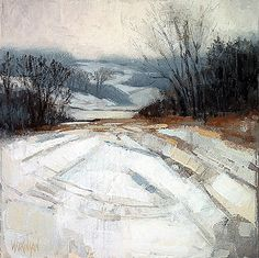 snow no. 3 ~ medium unknown ~ by brent watkinson