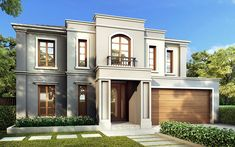 Find A Stunning Sydney Home In Our Liberty Home Design Classic House Design, House Front Design, Dream Home Design, Style At Home, Facade Design, Architecture Design, Liberty Home, French Provincial Home, Casa Loft