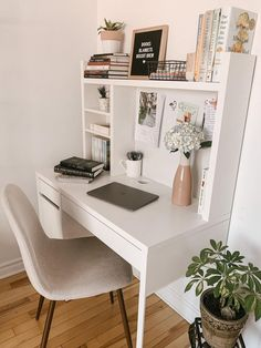 Room Design Bedroom, Room Ideas Bedroom, Small Room Bedroom, Bedroom Decor, Study Room Decor, Cute Room Decor, Pinterest Room Decor, Aesthetic Room Decor, Home Office Decor