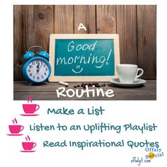 Morning Motivation - getting my day off with the best start - a song in my heart and a smile Lists To Make, Morning Motivation, Small Groups, Content Marketing, Photo Editing, Web Design, Inspirational Quotes, Social Media, Technology