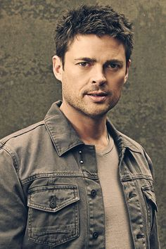Karl Urban my second most favorite man.                                                                                                                                                      More