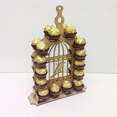 Cheap Bird Cage ferrero Rocher stand wedding mr and mrs center piece (A287)