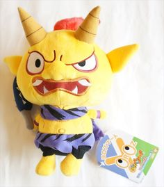 New! Yokai Watch Plush Doll Yellow Demon Bandai Japan Limited Stuffed Toy Rare #Bandai