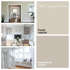 Interior Paint Colors Frequently Used In The Homes We Sell Kelly Moore Fossil Kelly