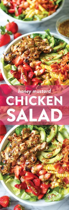 Factors You Need To Give Thought To When Selecting A Saucepan Honey Mustard Chicken Salad - Damn Delicious Healthy Recipes, Salad Recipes, Cooking Recipes, Easy Recipes, Honey Mustard Chicken, Cilantro Lime Chicken, Balsamic Vinegar Chicken, Chicken Salad, Ham Salad