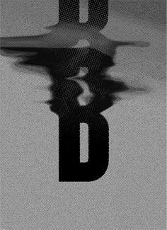B letter on Behance