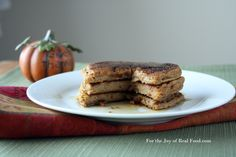 Paleo Pumpkin Pancakes - For the Joy of Real Food