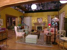 Okay, so it's actually just at set for a TV show, but I still want to live here!