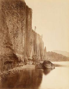 Carleton E. Watkins (1829-1916) Cape Horn, Columbia River, 1867 (Museum of Art Rhode Island School of Design, Providence)
