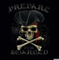 Pirate Crafts, Pirate Art, Pirate Skull, Pirate Life, Pirate Theme, Pirate Phrases, Homemade Pirate Costumes, Pirates Cove, Pirates Of The Caribbean