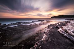 Approaching Thunderstorm at Sunset by RobinEOS
