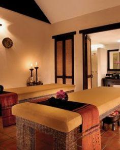 The serene spa uses herbal treatments drawn from Lanna Thai traditions. Tamarind Village Chiang Mai, Chiang Mai, Thailand #JSSpa