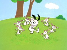It's the Easter Beagle, Charlie Brown.