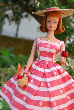Midge doll -- Friend of Barbie! Mine was just like this one. She had freckles on her cute little nose :D