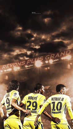 Trio CMN ( Cavani Mbappe Neymar)