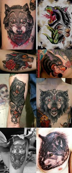 Animal Tattoos: They are not gender specific and can be imprinted on any part of the body.
