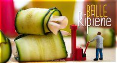 MicroRicetta: Balle di zucchine ripiene