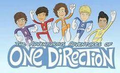 """Si no viste """"Las aventurasde One Direction"""" fallaste como Directioner  #carrotnight"""