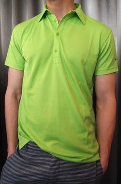 Sligo solid green golf shirt $70. from Gotstyle Menswear.