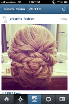 Homecoming hair for this year!