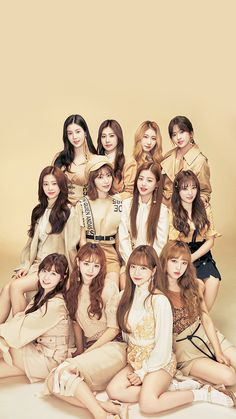 Photo album containing 5 pictures of IZ*ONE Kpop Girl Groups, Korean Girl Groups, Kpop Girls, Yuri, 3 In One, One Pic, K Pop, Dark Rose, Foto Real