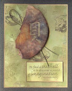 To Find A Seashell (Heather Taylor)  Unmounted Rubber Stamps