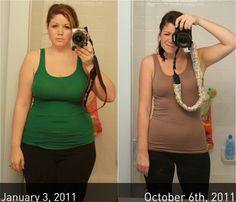 Awesome transformation.  Very motivating down to earth means of getting there.  She has great tips for those following WW!