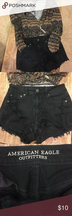 Summer Sale: American Eagle Outfitters Shorts American Eagle Outfitters Jean Shorts SZ 2 American Eagle Outfitters Shorts Jean Shorts
