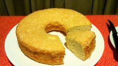 Bolo de Claras (Angel Food Cake)