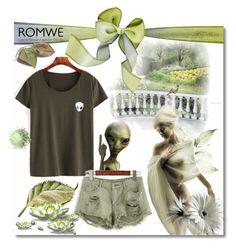 """ROMWE no.3"" by silvijo ❤ liked on Polyvore"