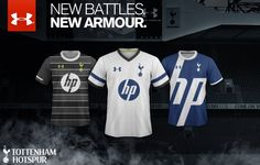 Are these the new Tottenham Hotspur kits for 0626b441c